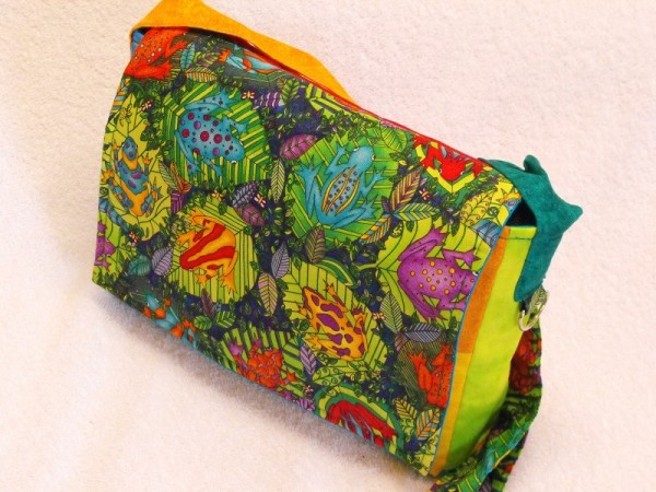 Kindergartentasche im Frosch Design