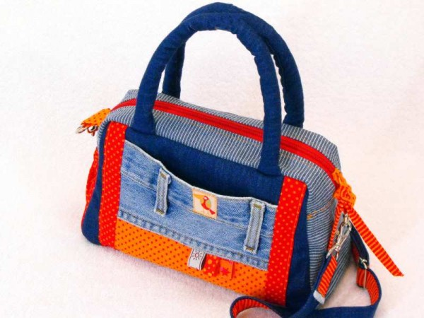Schultertasche - Magic Bag orange