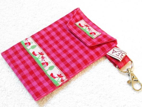 Handytasche in pink rot