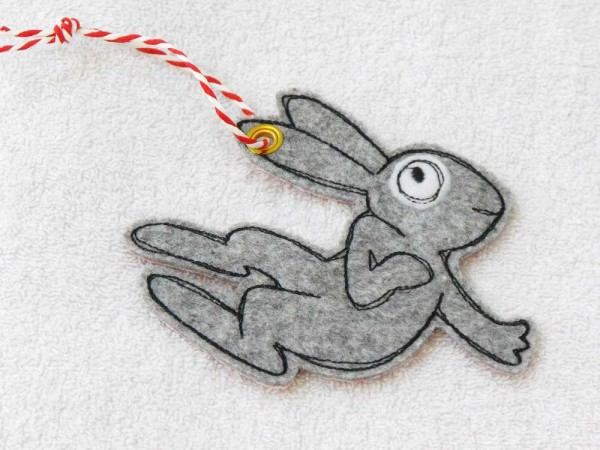Taschenanhänger Hase