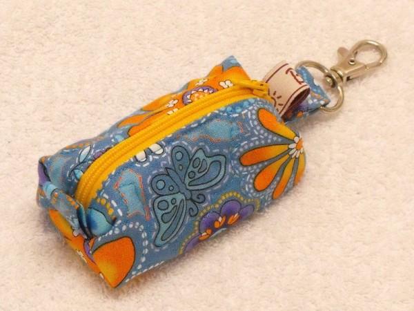 Mini-Tasche mit Blumen Motivstoff