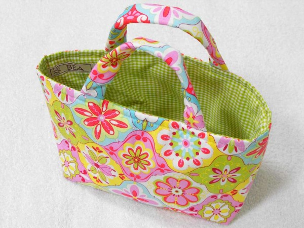 Kindertasche - Blumen Shopper