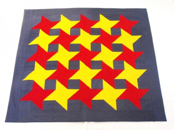 Tischdecke Sterne