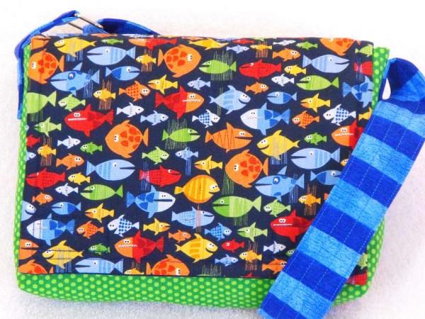 Kindergartentasche Fische