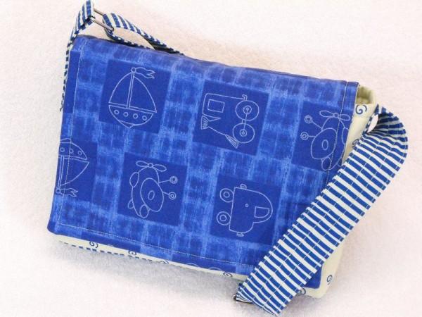 Kindergartentasche Linus - gestreift