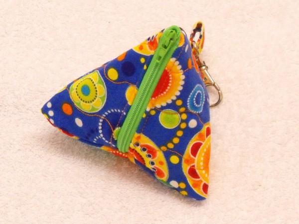 Mini-Tasche in blau gelb
