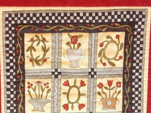Wandbehang Kinderzimmer - Quilt Design