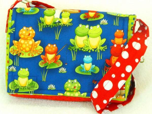 Kindergartentasche - Froschkonzert