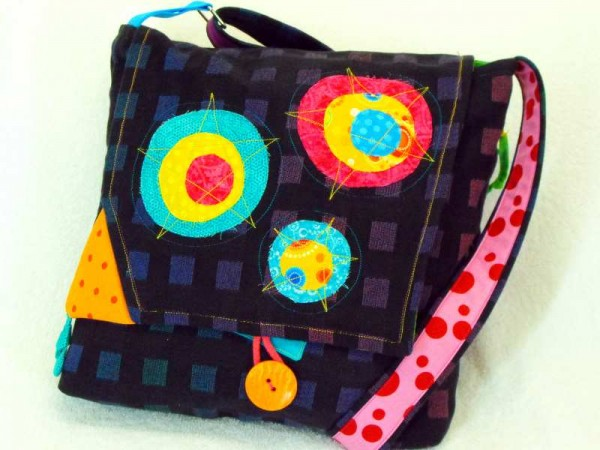 Schultertasche - Lifestyle Bag bunt