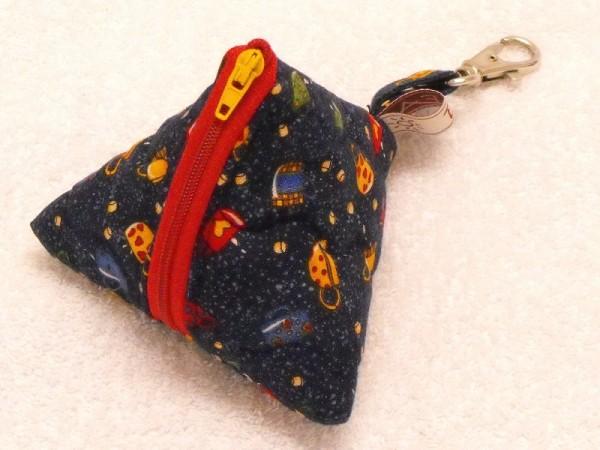 Mini-Tasche Luna rot