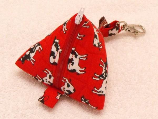 Mini-Tasche mit Kühen